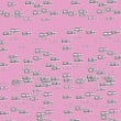 silver shimmer pattern over pink