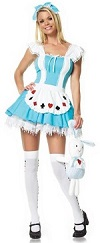 Alice Girl Costume Pantyhose