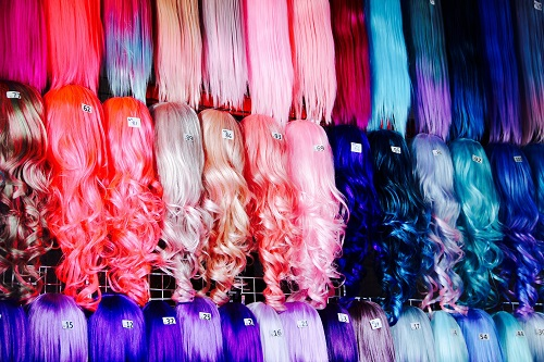 Colorful Drag Queen Wigs