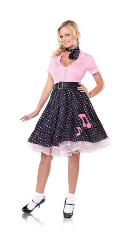 Halloween Costume - Sock Hop Sweetie from hotlegsusa.com