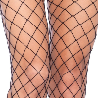 LA1278 Diamond Net Pantyhose with Lace Boy Short Available Online
