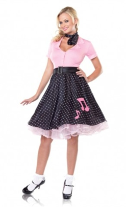 LA83530 Leg Avenue Sock Hop Sweetie