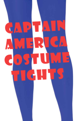 Captain America Costume Tights
