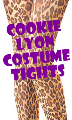 Cookie Lyon Costume Tights