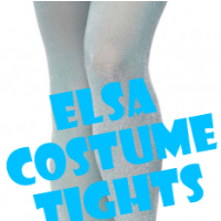Elsa Costume Tights