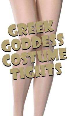 Greek Goddess Costume Tights