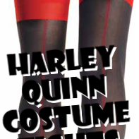 Harley Quinn Costume Tights