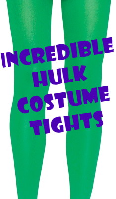 Incredible Hulk Green Costume Tights