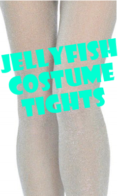 Jellyfish Glitter Costume Tights