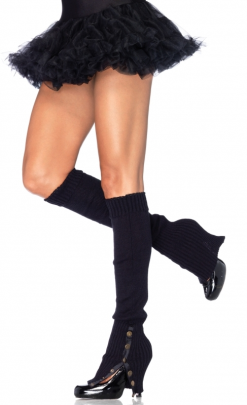 LA3901 Leg Avenue Snap Side Leg Warmers