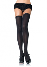 Leg Avenue Black Over the Knee Thigh High
