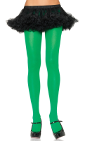 Green fashion tights