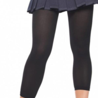 LA7876 Leg Avenue Opaque Footless Tights