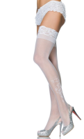 LA9099 Leg Avenue Sheer Stay Up Thigh High