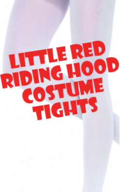 Little Red Riding Hood Costume Tights