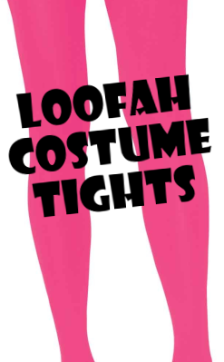 Loofah Costume Tights