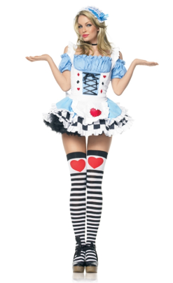 LA83354 Leg Avenue Miss Wonderland Halloween Costume