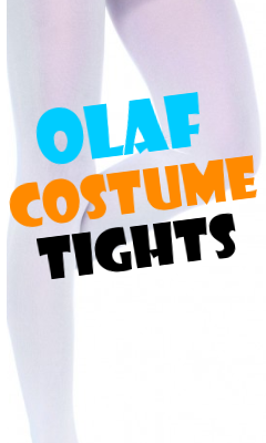 Olaf Costume Tights