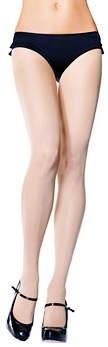 Leg Avenue Nude Opaque Nylon Tights