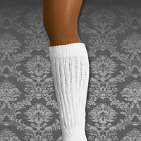 Long Peavey Hosiery Scrunch Socks #PH200