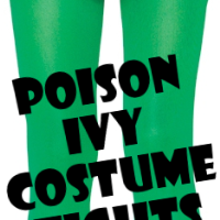 Poison Ivy Costume Tights