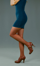 Peavy blue label pantyhose