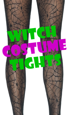 Witch Costume Thigh Highs