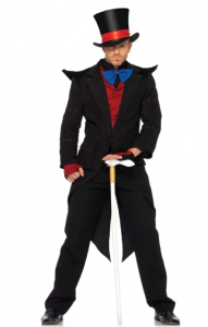 Leg Avenue Evil Mad Hatter Halloween Costume