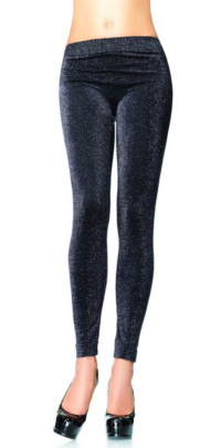 LA13544 Leg Avenue Glitter Lurex Leggings