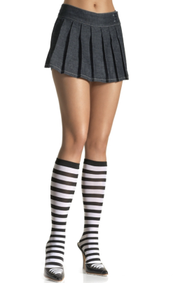 LA5577 Leg Avenue Stripe Knee-Hi