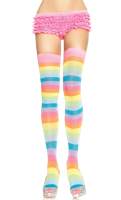 LA6600 Leg Avenue Rainbow Thigh Highs