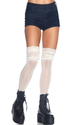 Leg Avenue Over the Knee Knit Socks LA6906
