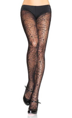LA9009 Leg Avenue Spiderweb Lace Pantyhose