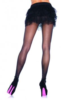LA9909 Leg Avenue Diamond Back Seam Sheer Pantyhose