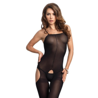 8195 Leg Avenue Opaque Suspender Bodystocking