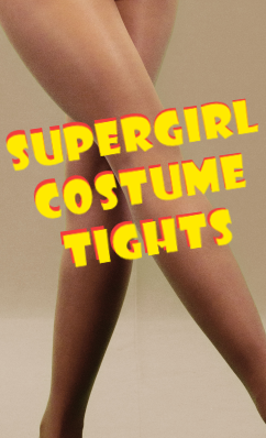Supergirl Costume Tights