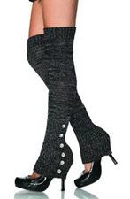 Leg Avenue Leg Warmers with Rhinestones