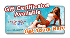 Holiday Gift Certificates for Hot Legs USA Pantyhose